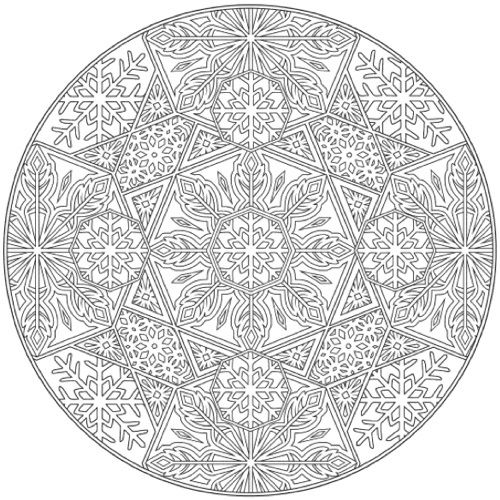 22 Christmas Coloring Books To Set The Holiday Mood Mandala Coloring Pages Mandala Coloring Books Mandala Coloring