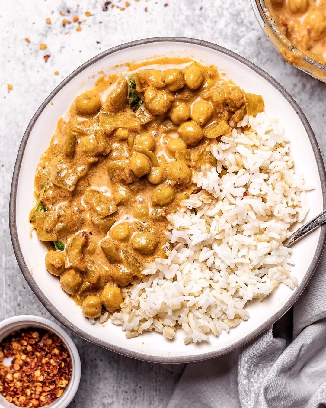Creamy Butter Chickpeas The Best Vegan Food Good Old Vegan In 2020 Vegetarian Recipes Easy Vegan Recipes Plant Based Easy Baby Food Recipes