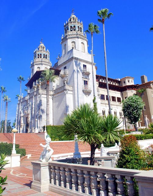 The Hearst Castle, San Simeon, California