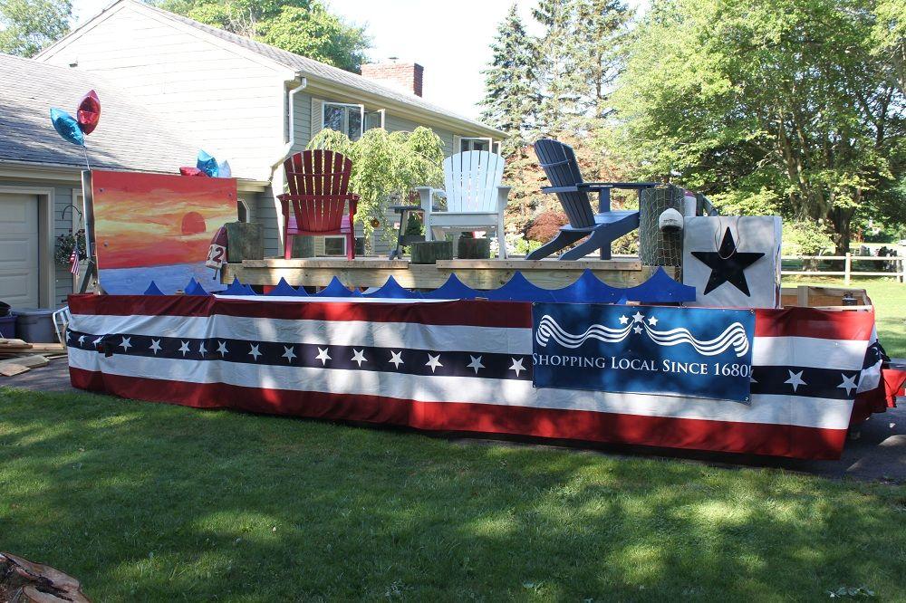 Budget parade float ideas bristol fourth of july thofjulyparade th also foxtail lights foxtaillights on pinterest rh