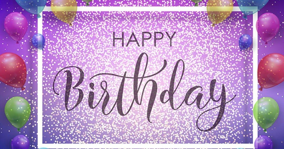 Sparkling Birthday Wishes Happy Birthday Sms