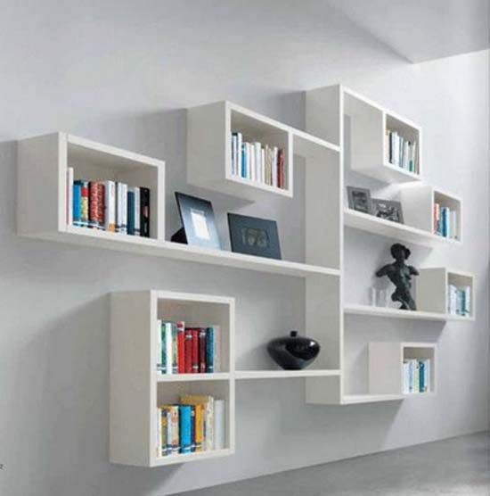 26 of the most creative bookshelves designs time to find our new rh pinterest com wall bookshelves ideas book shelves wall mount