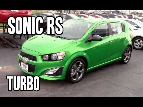 2014 Chevrolet Sonic Rs Turbo Dragon Green Walk Around Tour And