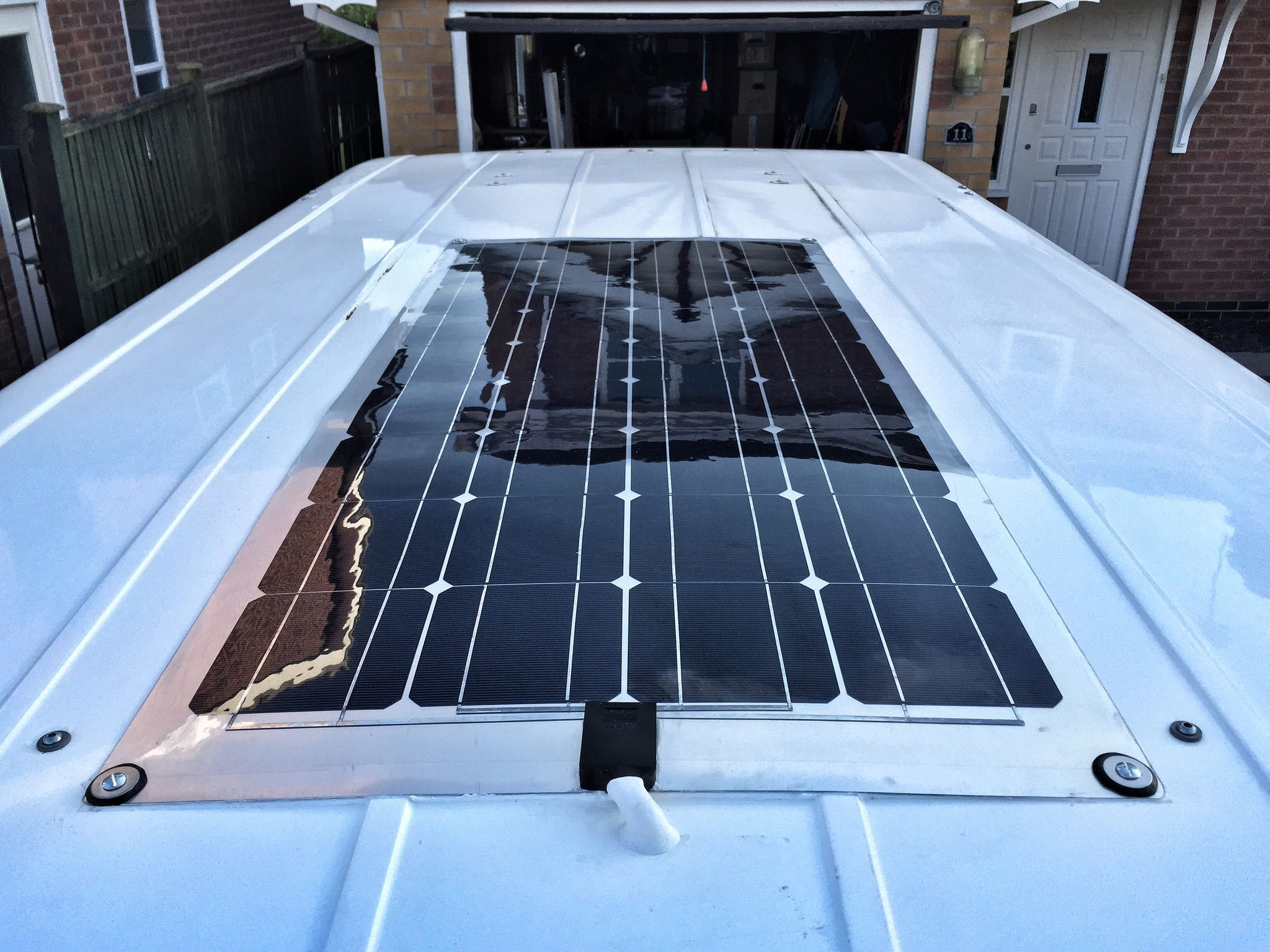 Campervan Solar Panel Installation Richard Mackney Com Solar Panels Solar Best Solar Panels