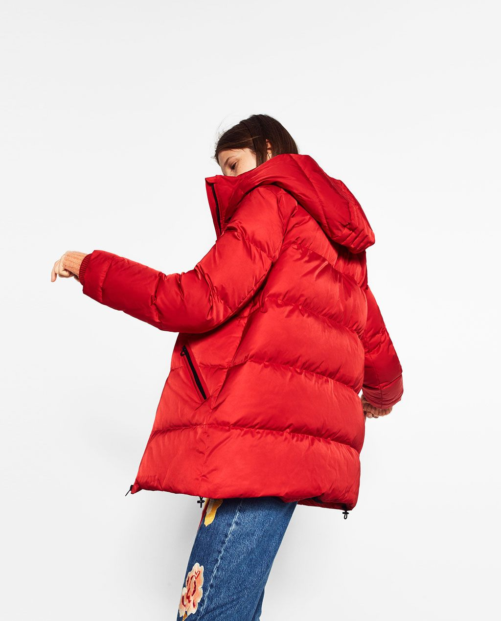 1c6514ee OVERSIZED QUILTED FEATHER DOWN COAT-Quilted Coats-OUTERWEAR-WOMAN | ZARA  Germany