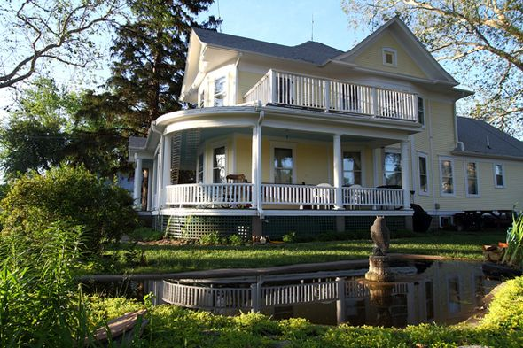 Destination #4: Oft's B&B (Bennington) is a historic bed and breakfast located just a few miles northwest of Omaha.