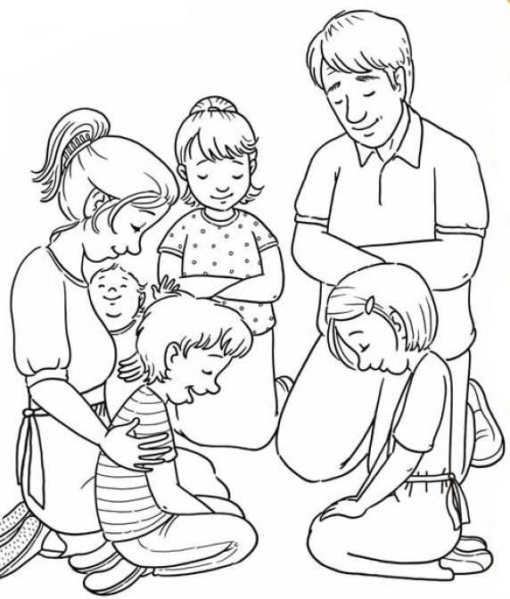 Oracion En Familia Lecciones De La Escuela Dominical Biblia