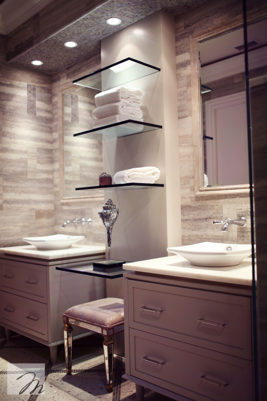 metropolitan bathroom custom vanity open shelving on custom bathroom vanity plans id=52486