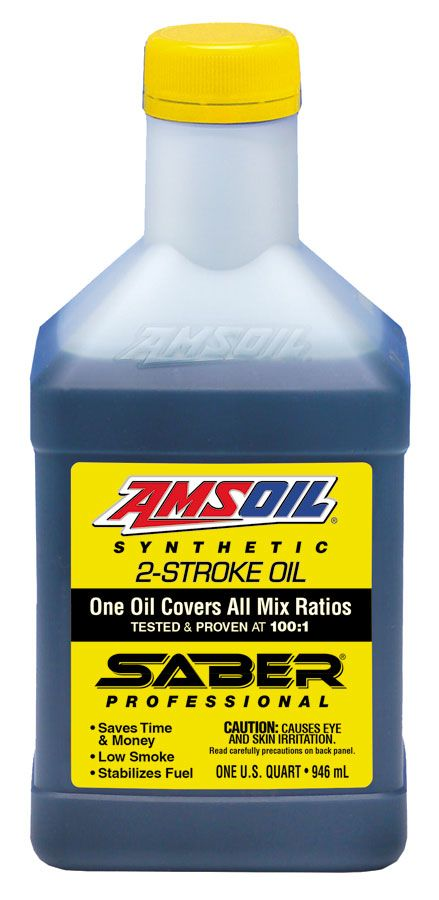 Amsoil Saber Professional Synthetic 2 Stroke Oil Click Picture