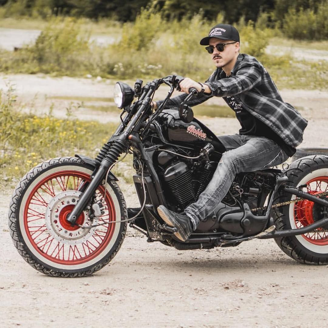 Bobber Bobberbrothers motorcycle Harley custom customs diy