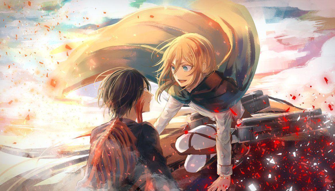 の on Ymir, Anime, Attack on titan