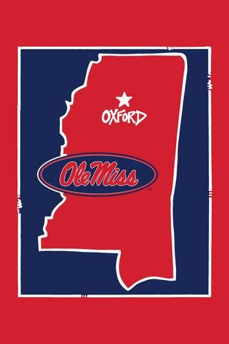 Ole Miss State Flag Hotty Toddy Pinterest Ole Miss Cricut