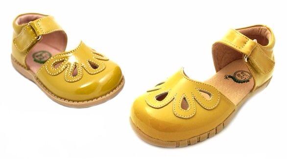 Zapatos amarillos infantiles 4k1Oc6
