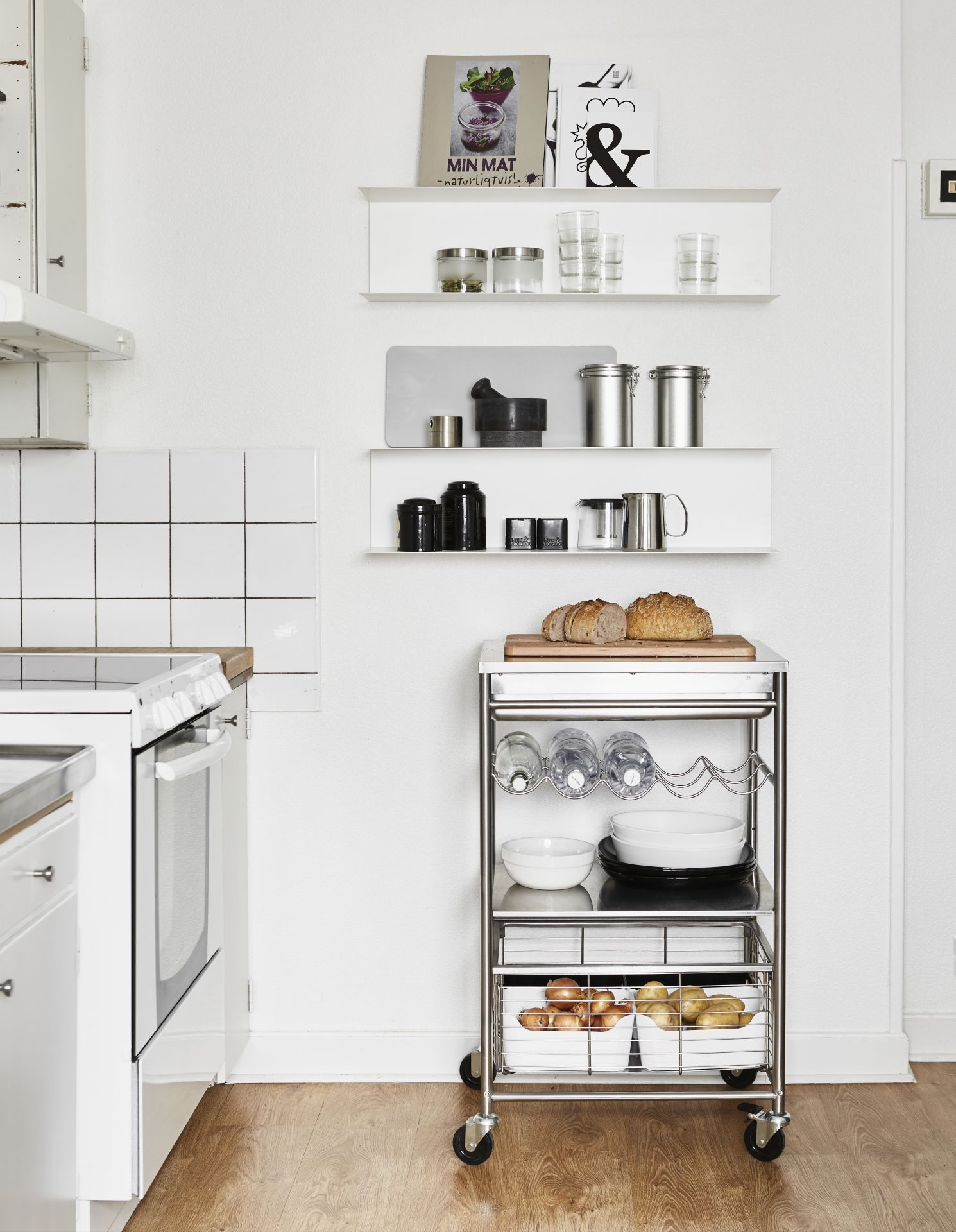 Pin By Narjes S On Mojito Bar Ikea Pantry Kitchen Trolley Kitchen