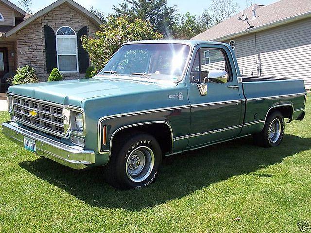 1978 Chevrolet Gmc Pick Up Truck C10 Cheyenne Flickr Photo Sharing