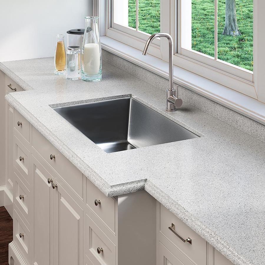 Allen Roth Beton Quartz Kitchen Countertop Sample At Lowes Com