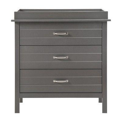 DaVinci Asher 3 Drawer Changer Dresser - Slate (Grey)