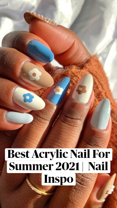 Best Acrylic Nail For Summer 2021 | Nail Inspo