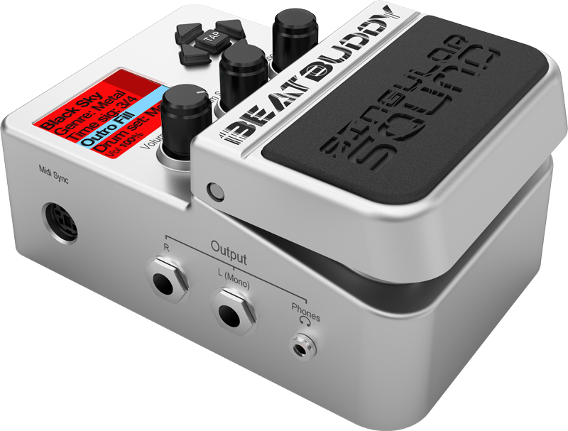 BeatBuddy | The world's first guitar pedal/drum machine ...