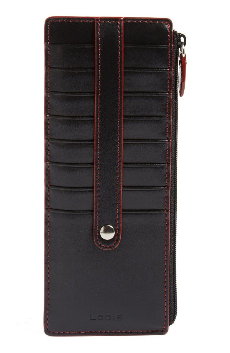Lodis los angeles audrey rfid leather credit card case