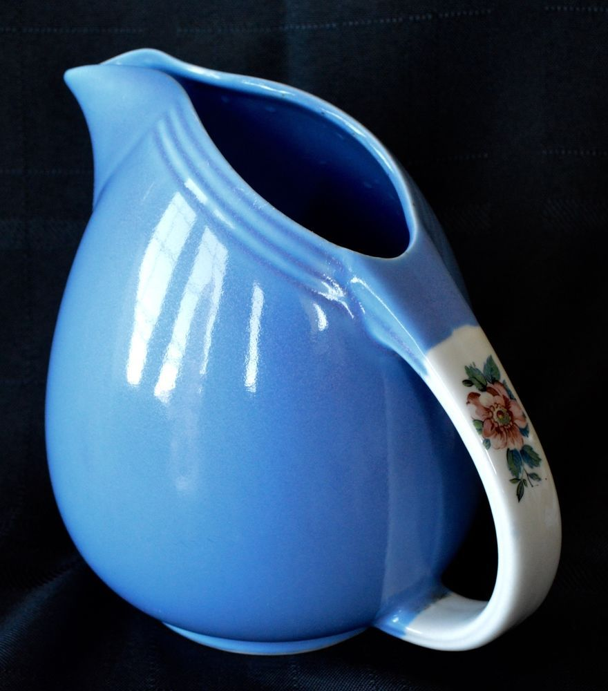 Beautiful Blue Hall\'s Superior Quality Kitchenware Rose Parade ...
