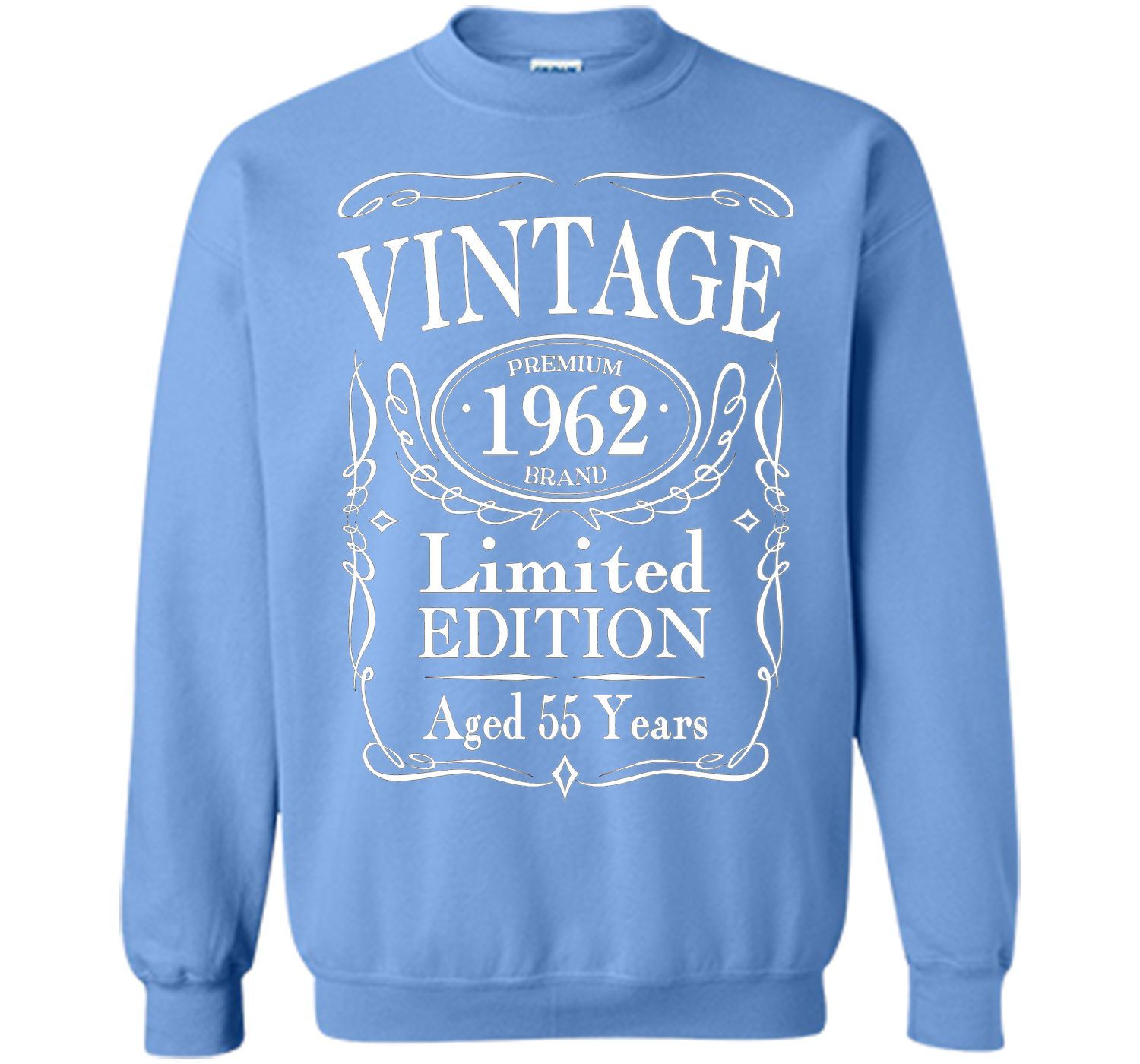 Vintage 1962 Limited Edition 55th Birthday Gift T-Shirt