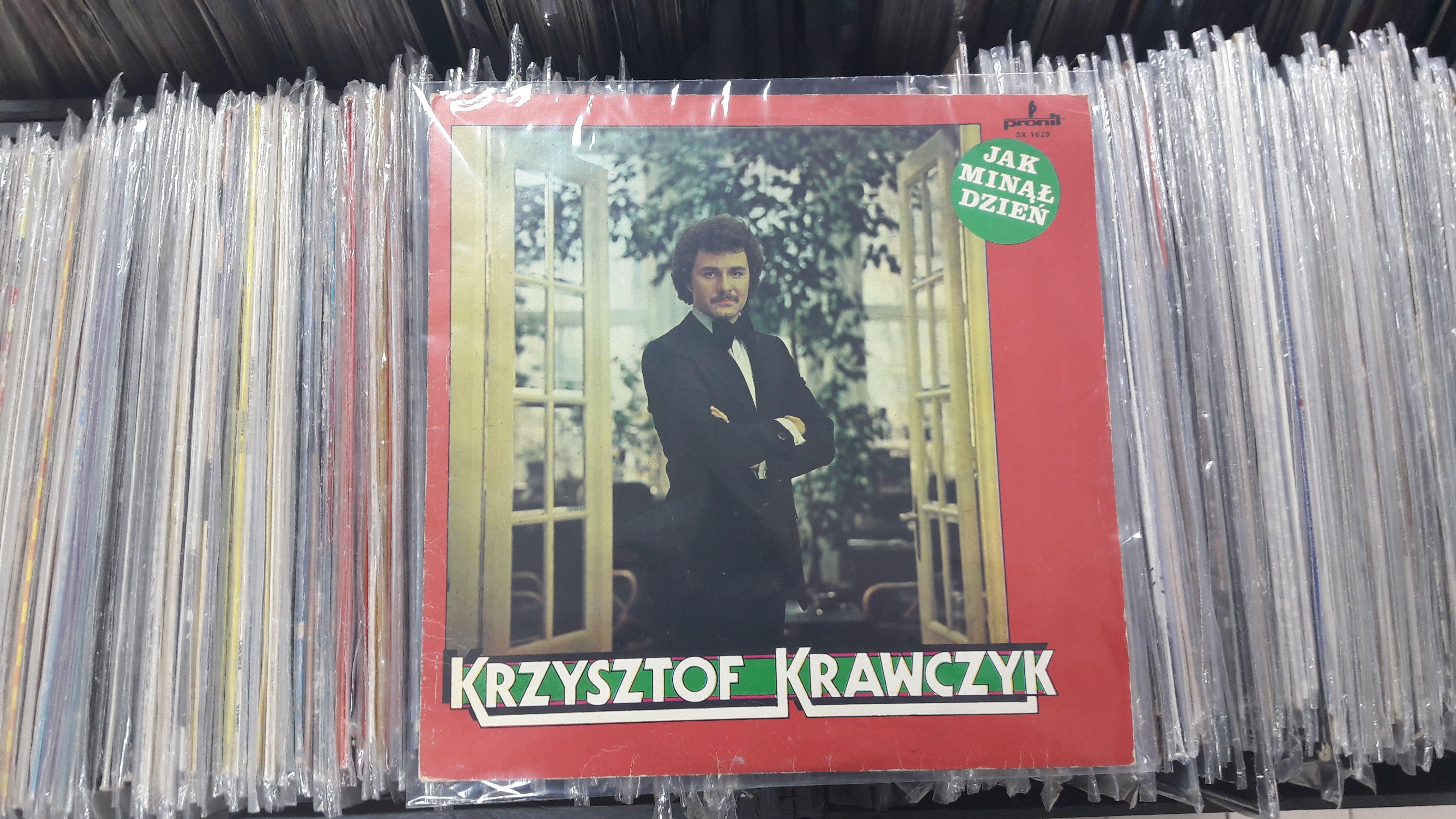 Krzysztof Krawczyk Jak Minal Dzien Pronit Sx 1629 Vinyl Lp Album Vinyl Records Vinyl Book Cover