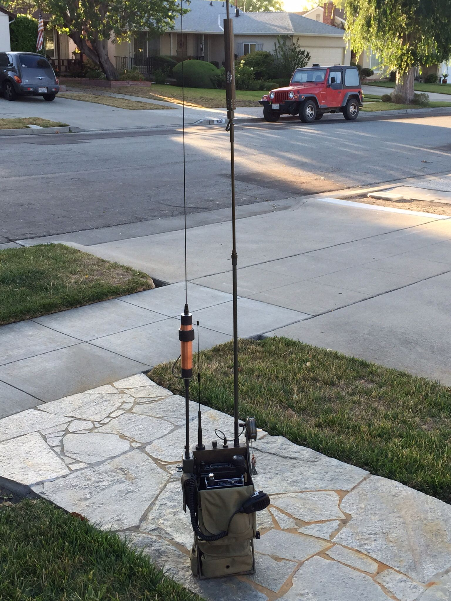 HF Manpack By N6VOA | N6VOA / UTOC | Ham radio antenna, Hf