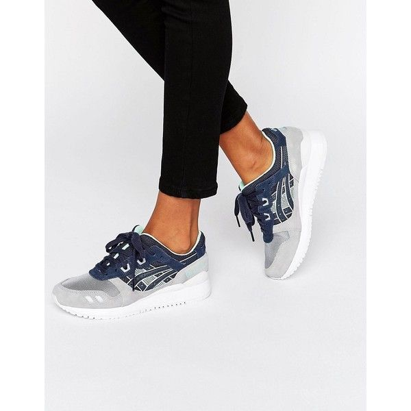 38aca7b80d39 Asics Gel Lyte Iii Sneakers With Mesh Detail ( 130) ❤ liked on Polyvore  featuring shoes