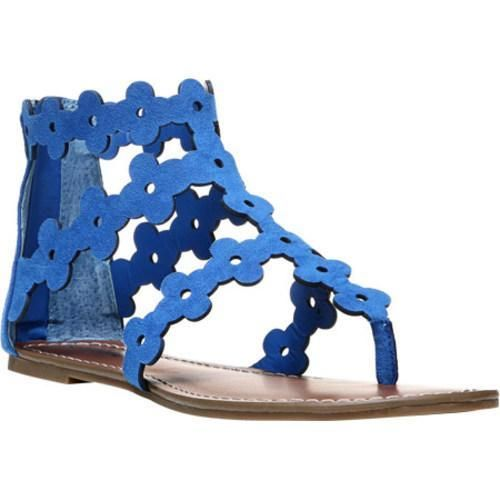 Womens Sandals CARLOS by Carlos Santana Finesse Corfu Blue