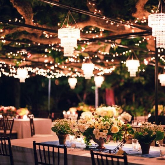 Anything Outside And Under A Canopy Is Stunning! #wedding