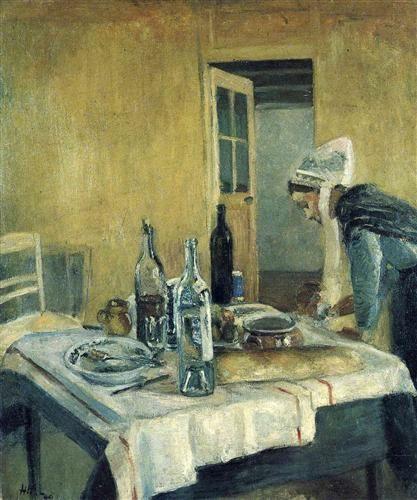 The Maid, Henri Matisse, 1896