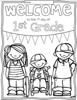 Free Welcome To Any Grade Pre K Through 6th Grade Coloring
