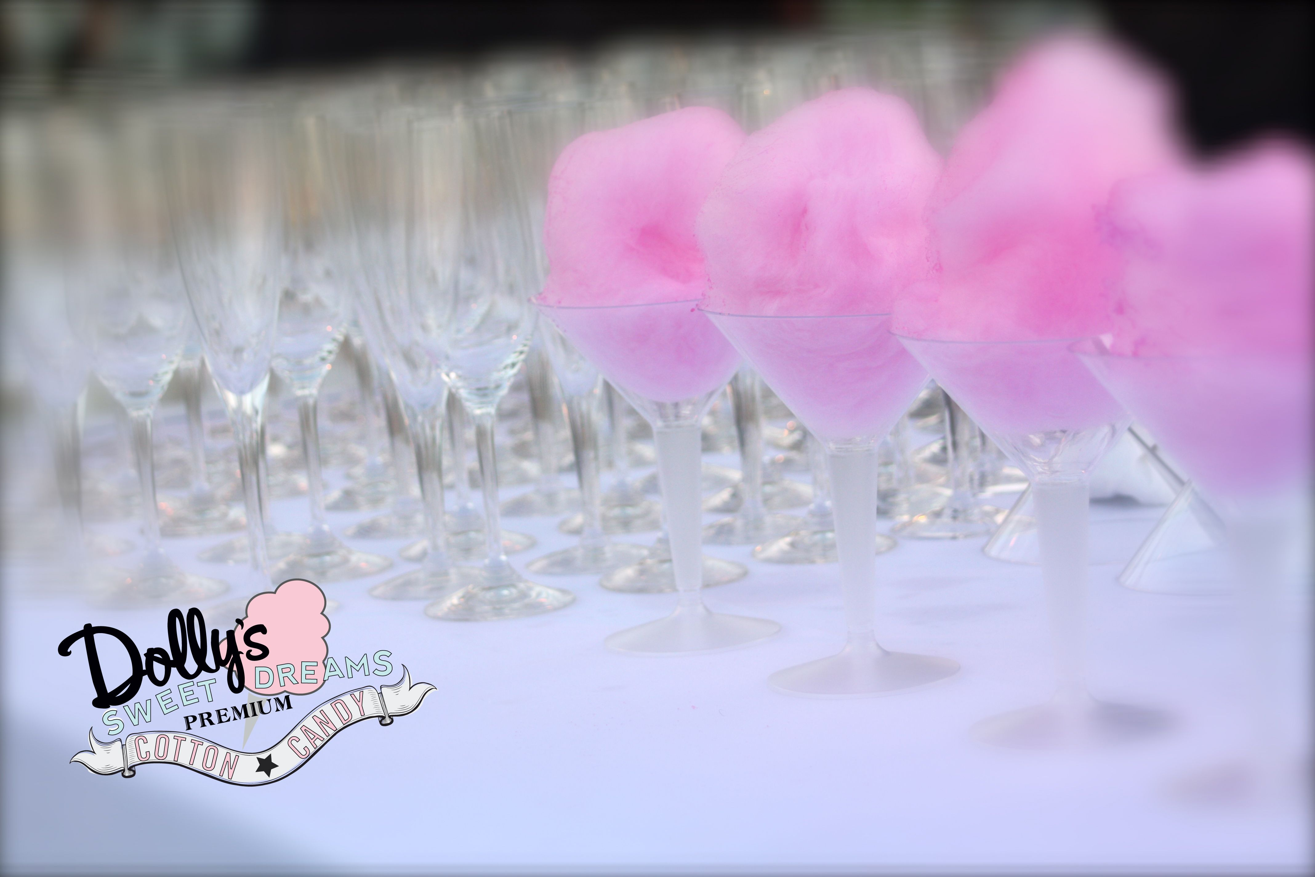 Signature drinks add a personal touch to any event. Pick a drink that stars your favorite liquor & matches your color scheme. Looking to add that sweet touch? Dolly's Cotton Candy Martini's can be made in 7 colors & provide unique and dazzling entertainment ♥  www.facebook.com/dollyscottoncandy  www.dollyscottoncandy.com