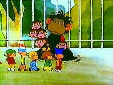 фото из мультика обезьяна с детьми