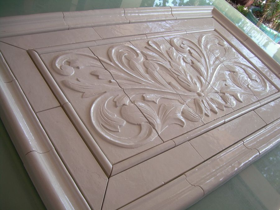 Decorative Relief Tiles Prepossessing View A Gallery Of High Relief Tiles For Kitchen Bath Backsplash Decorating Inspiration