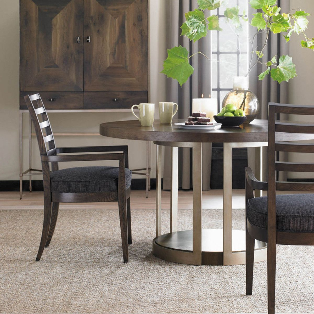 Contemporary Round Dining Room Tables Stunning My Manhattan Round Dining Table Provides A Contemporary Dining Decorating Design