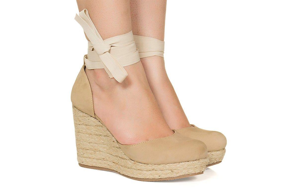 338d64c93b Espadrille nude Taquilla - Taquilla - Loja online de sapatos femininos