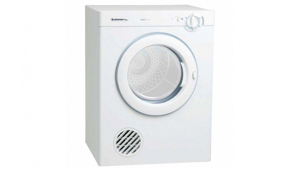 Simpson 4kg Clothes Dryer Clothes Dryer Washing Machine Dryer
