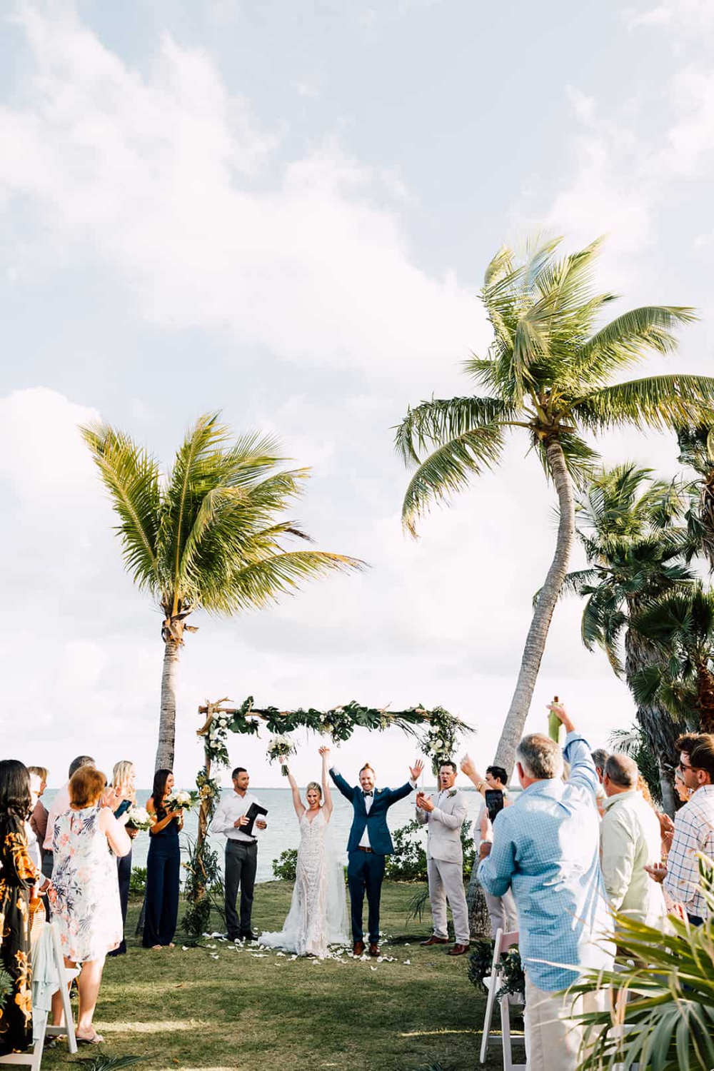 Bahamas Boating Lovers Tie The Knot In Abaco Chic Bahamas Weddings Bahamas Wedding Bahamas Island Island Weddings