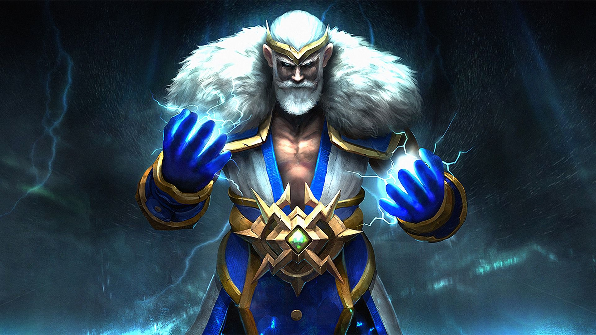 Zeus Dota 2 Loading Screen Emperor Of The Gods Set Images Hd