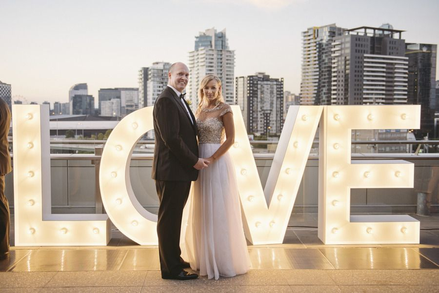 4a0055706cdc Romantic Melbourne Wedding at Luminare