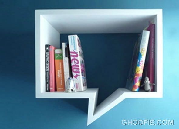 New concept comic shelf design shelves