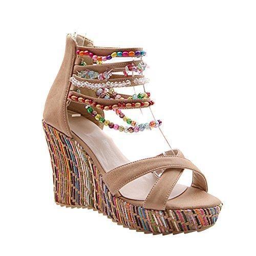 Chaussures Multicolores Ethniques Pour Les Femmes KsY0cDcrLV
