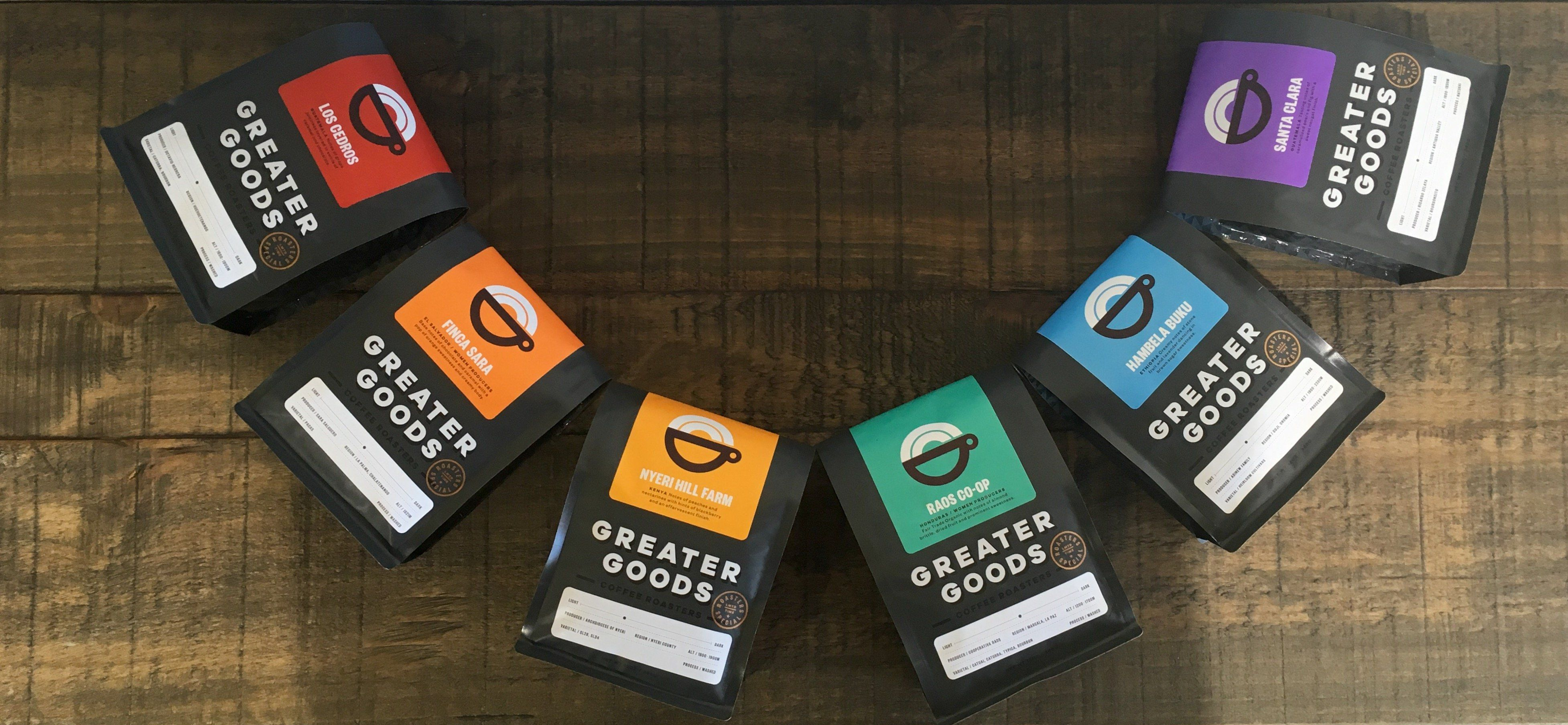 Greater goods coffee roasting is a specialty coffee