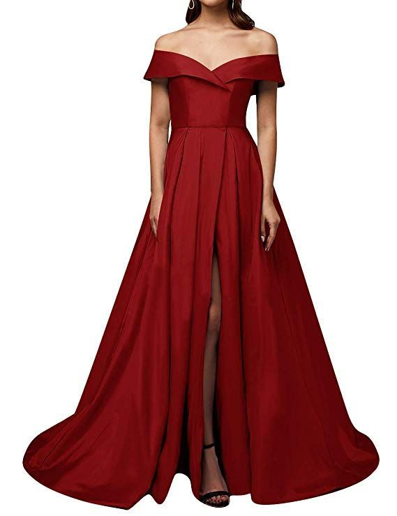 Vintage evening dress in different colors in 2020