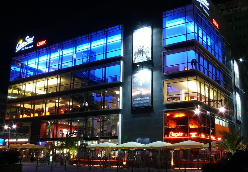 Cubix Kino Am Alexanderplatz
