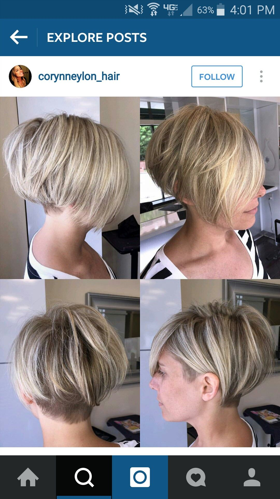Pin by amber loza on Short hairstyles Pinterest