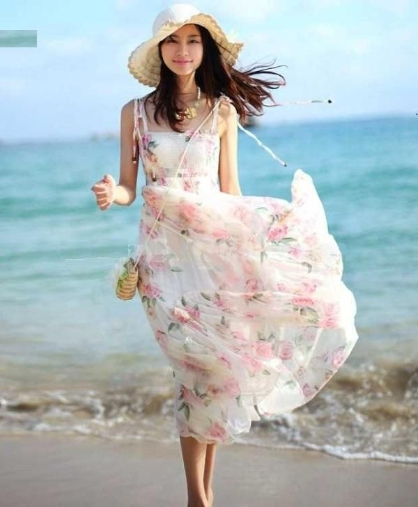 Images of Cute Beach Dresses - Reikian
