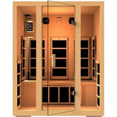 Jnh Lifestyles Joyous 3 Person Far Infrared Sauna In 2020